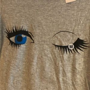 Tops - 🆕 Eyes N' Lashes T-shirt - NEW w/tags - size M